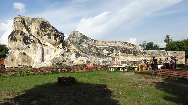 ビギナー向けに世界遺産のアユタヤ遺跡をざっくり紹介するよ!象にも乗れるよ~(≧▽≦)